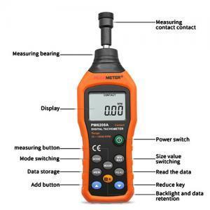 เครื่องวัดความเร็วรอบ-PM6208A