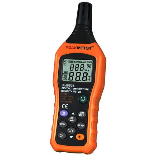 เครื่องวัดอุณหภูมิ ความชื้น เทอร์โมมิเตอร์ Thermometer PM6508