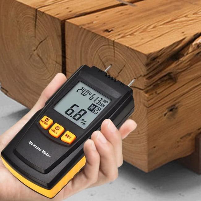 เครื่องวัดความชื้นไม้