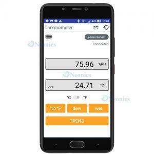 เครื่องวัดอุณหภูมิและความชื่น HT-801