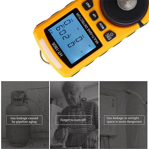 เครื่องวัดแก๊ส-Mult-Gas-Detector-รุ่น-HT-1805