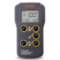 เครื่องวัดอุณหภูมิ Thermometer รุ่น HI93532R แบบ thermocouple 2 Channel