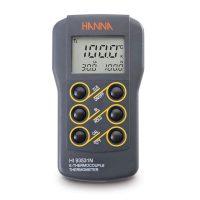 เครื่องวัดอุณหภูมิ เทอร์โมมิเตอร์ Thermometer รุ่น HI93531N แบบ thermocouple Type-K