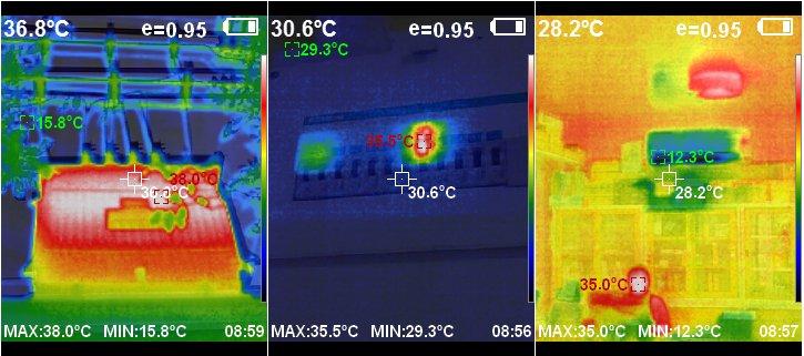ภาพความร้อนเทอร์โมสแกน