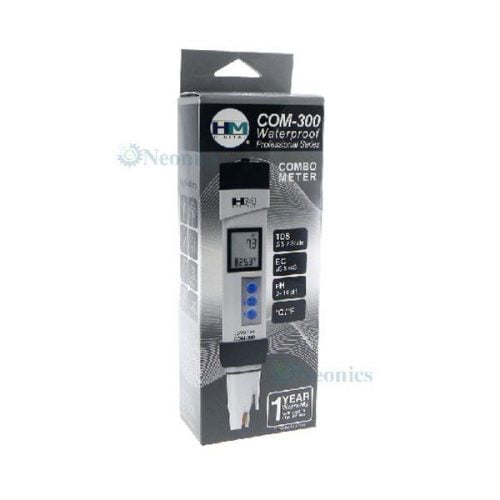 เครื่องวัด pH EC TDS Meter รุ่น COM-300 แบรนด์ HM Digital