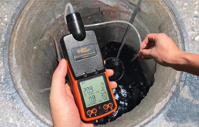 เครื่องวัดแก๊สที่ติดไฟได้ Combustable Gas Meter รุ่น AS8902