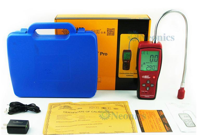 เครื่องวัดแก๊สที่ติดไฟได้ Combustable Gas Meter รุ่น AS8800A