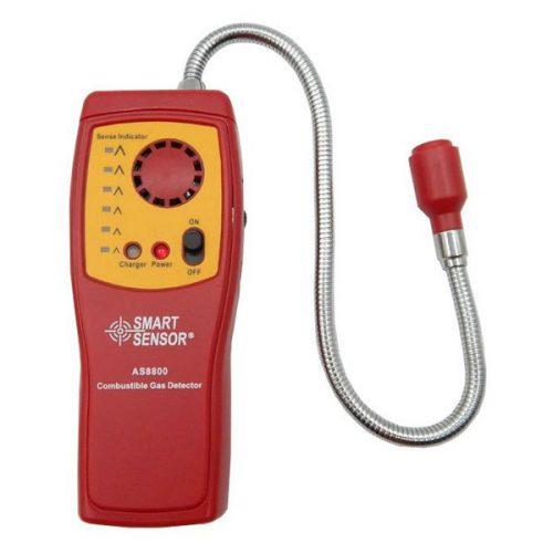 เครื่องวัดแก๊สที่ติดไฟได้ Combustable Gas Meter แบรนด์ Smart Sensor รุ่น AS8800