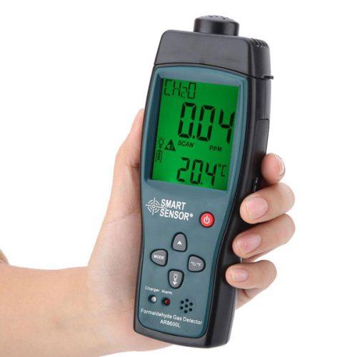 เครื่องวัดแก๊สฟอร์มาลดีไฮด์ Formaldehyde Meter รุ่น AR8600L