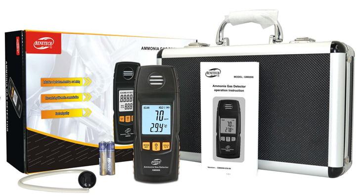 เครื่องตรวจวัดแก๊สแอมโมเนีย Ammonia Gas Meter จาก Benetech รุ่น GM8806