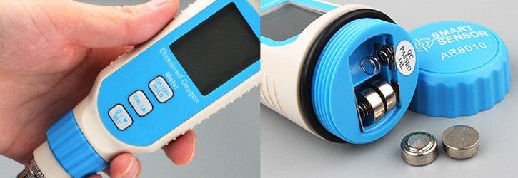DO Meter เครื่องวัดปริมาณออกซิเจนในน้ำ SmartSensor รุ่น AR8010