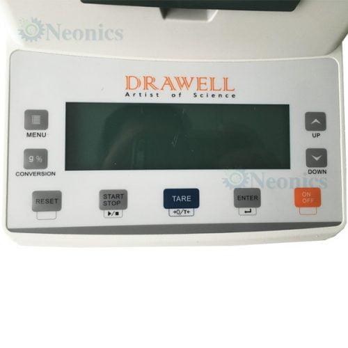 Moisture Analyzer เครื่องวัดวิเคราะห์ความชื้นรุ่น DW-105MW