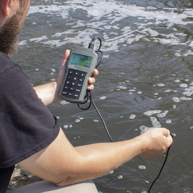 เครื่องวัดปริมาณออกซิเจนในน้ำ