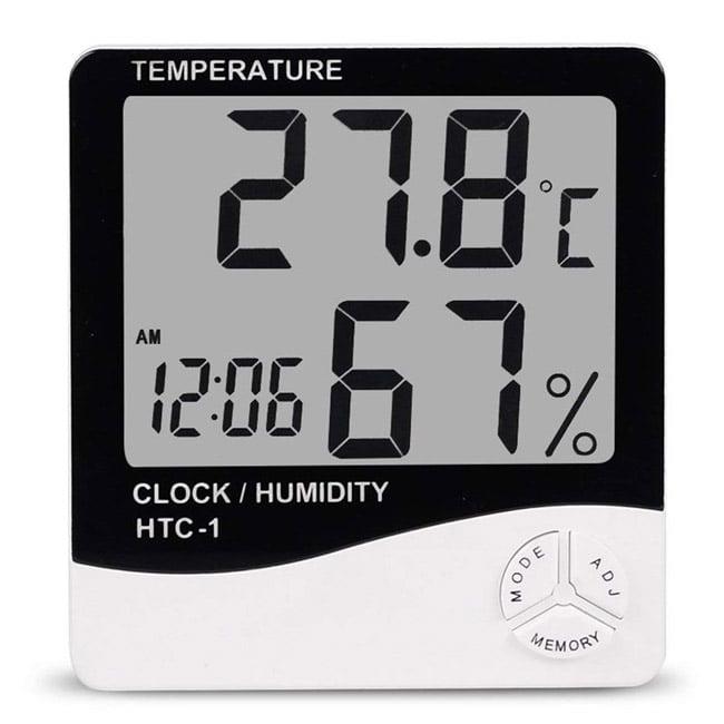 เครื่องวัดความชื้นสัมพัทธ์รุ่น HTC-1