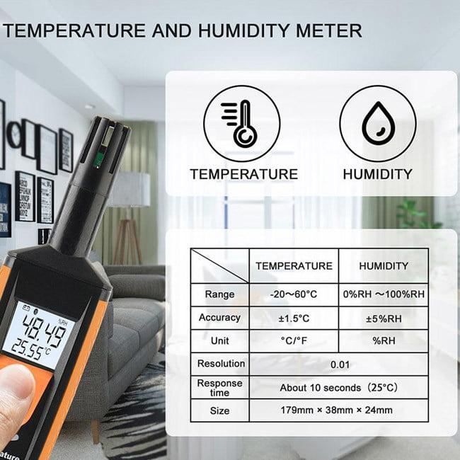 เครื่องวัดความชื้นในอากาศ HT-801
