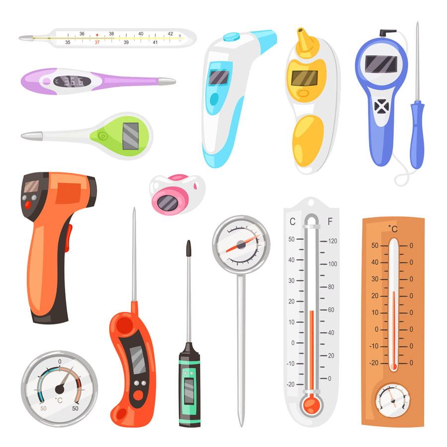 เครื่องวัดอุณหภูมิมีกี่ประเภท? และการเลือกซื้อ
