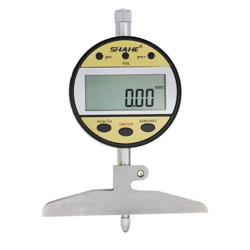 เกจวัดความลึกแบรนด์ SHAHE ขนาด 0-100 mm