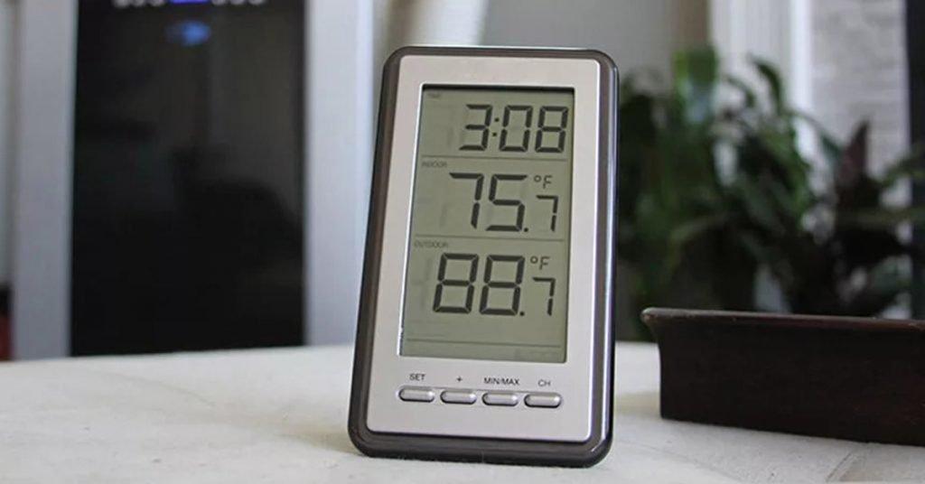 เทอร์โมมิเตอร์วัดอุณหภูมิห้อง