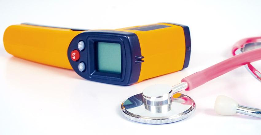 ประโยชน์ของ Infrared thermometer