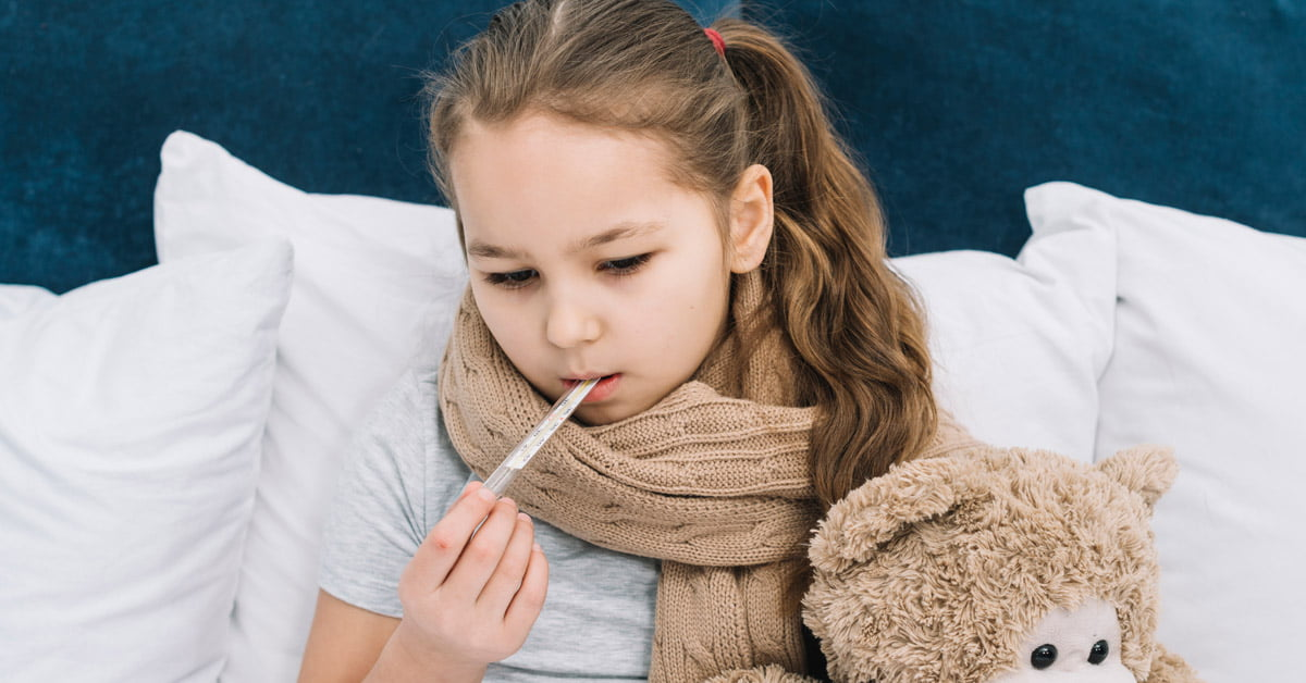 วัดอุณหภูมิร่างกายทางช่องปาก (ใต้ลิ้น)