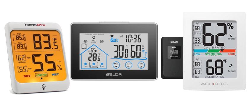 เทอร์โมมิเตอร์วัดอุณหภูมิ ความชื้น