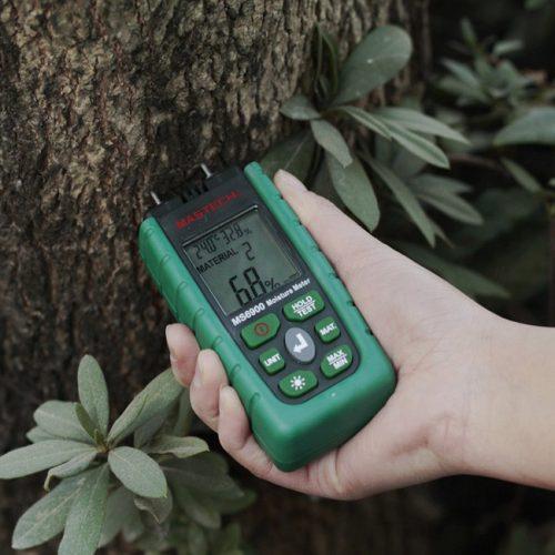 วัดความชื้นไม้