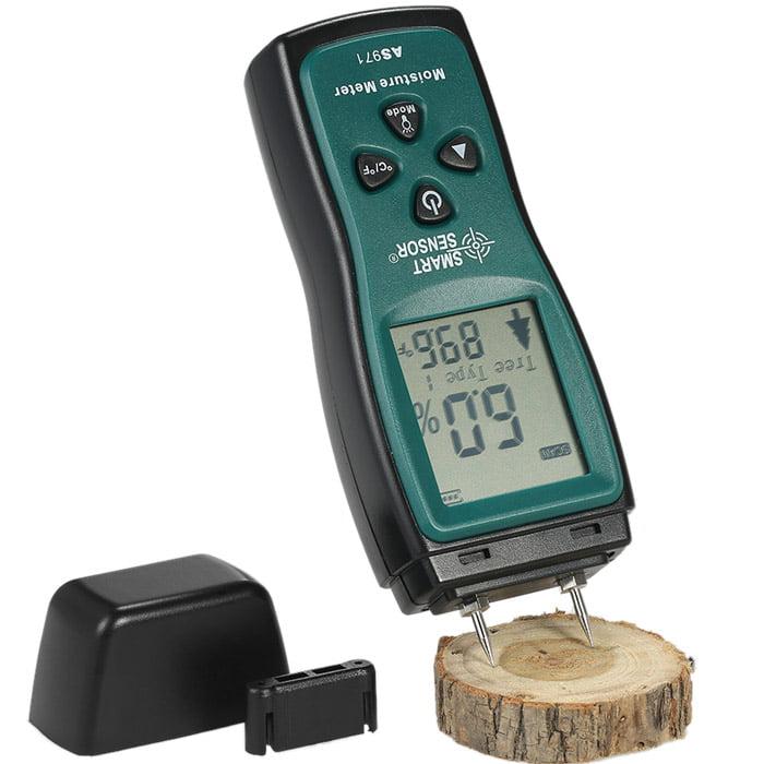วัดความชื้นไม้เจาะลงในเนื้อไม้