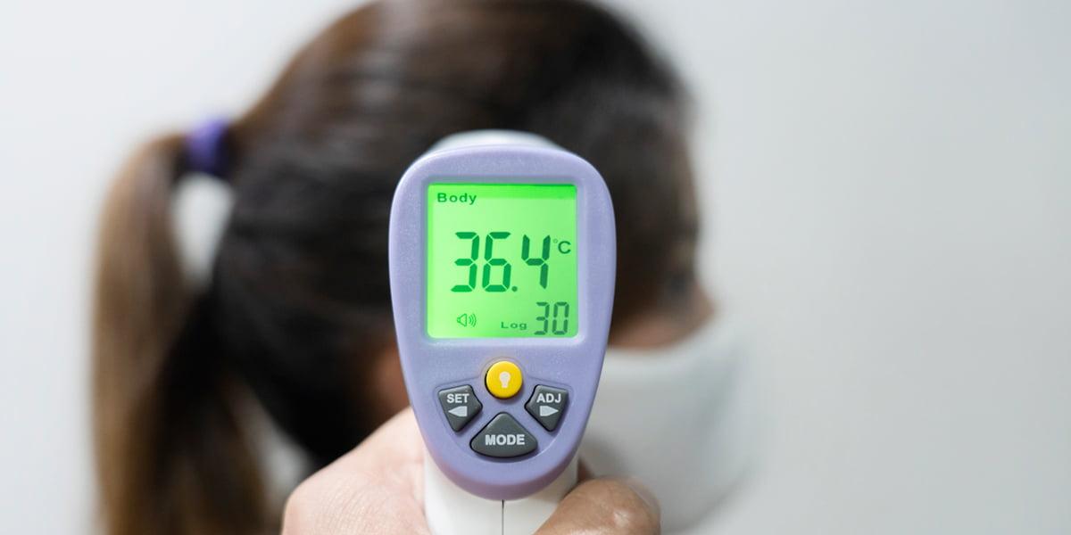 เครื่องวัดอุณหภูมิร่างกาย
