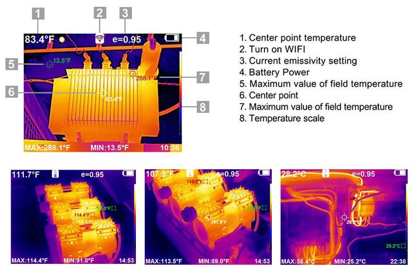 ภาพความร้อนจาก HT-H8
