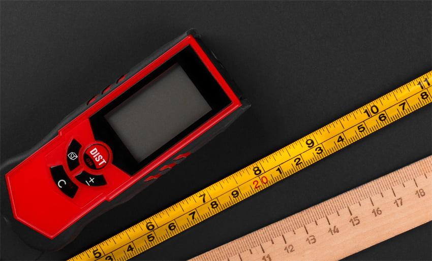 เครื่องวัดระยะเลเซอร์ (Laser Distance Meter)