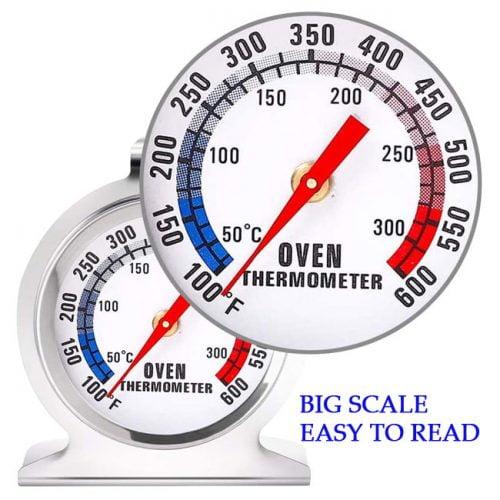 หน้าปัดขนาดใหญ่อ่านค่าอุณหภูมิง่าย