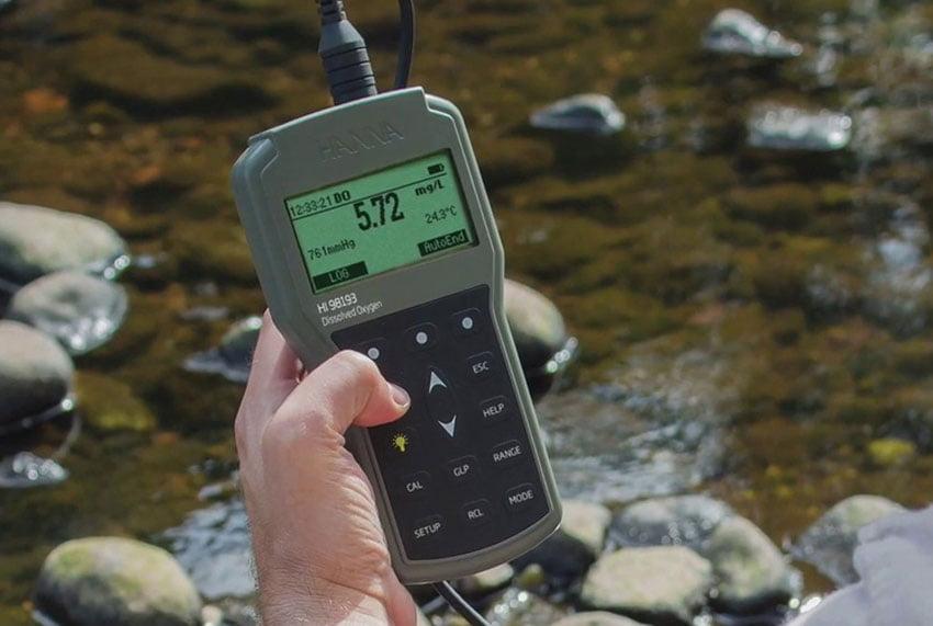 เครื่องวัดออกซิเจนในน้ำ (DO Meter)