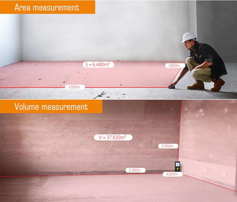 การวัดพื้นที่และปริมาตร